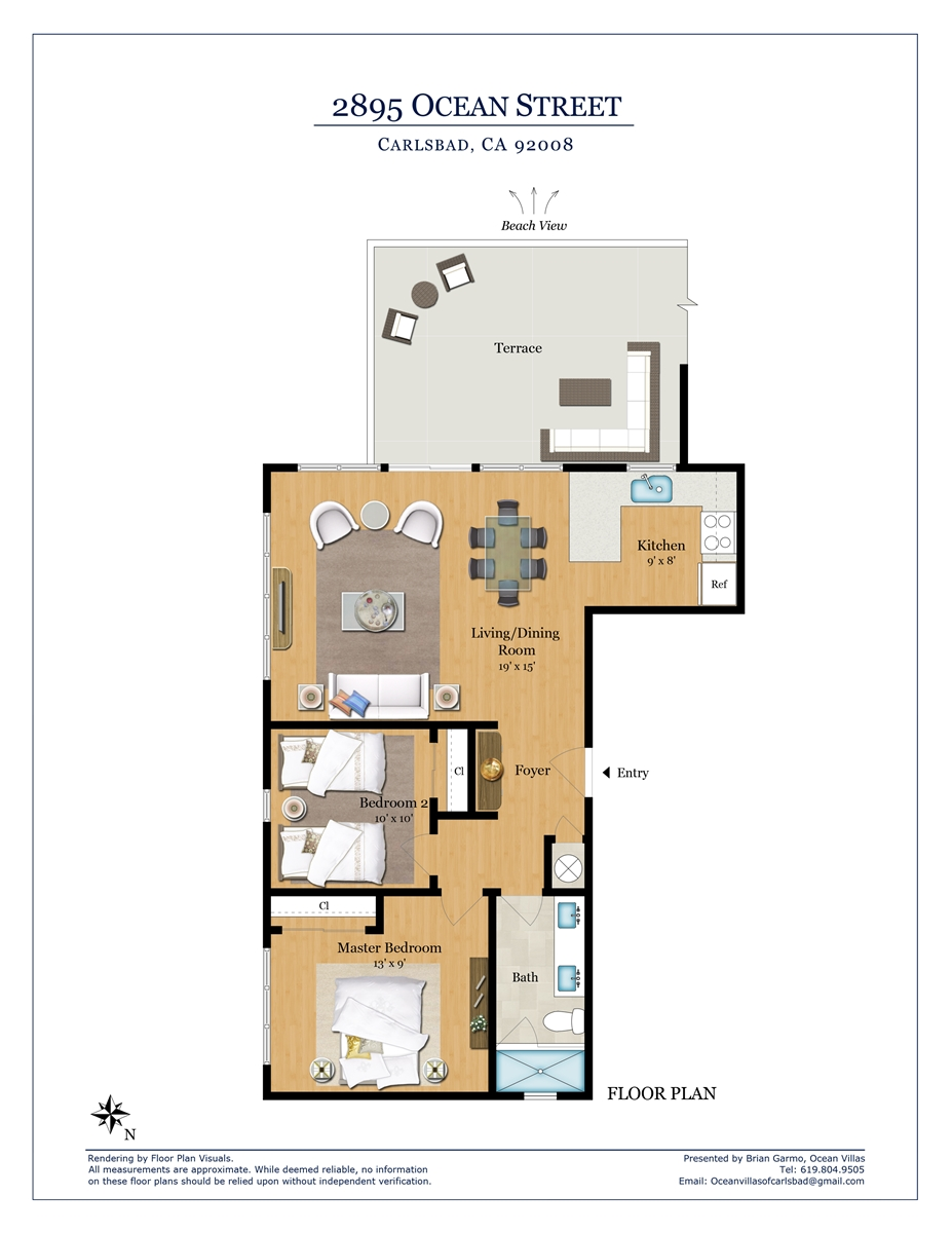 Floor Plan for Penthouse A