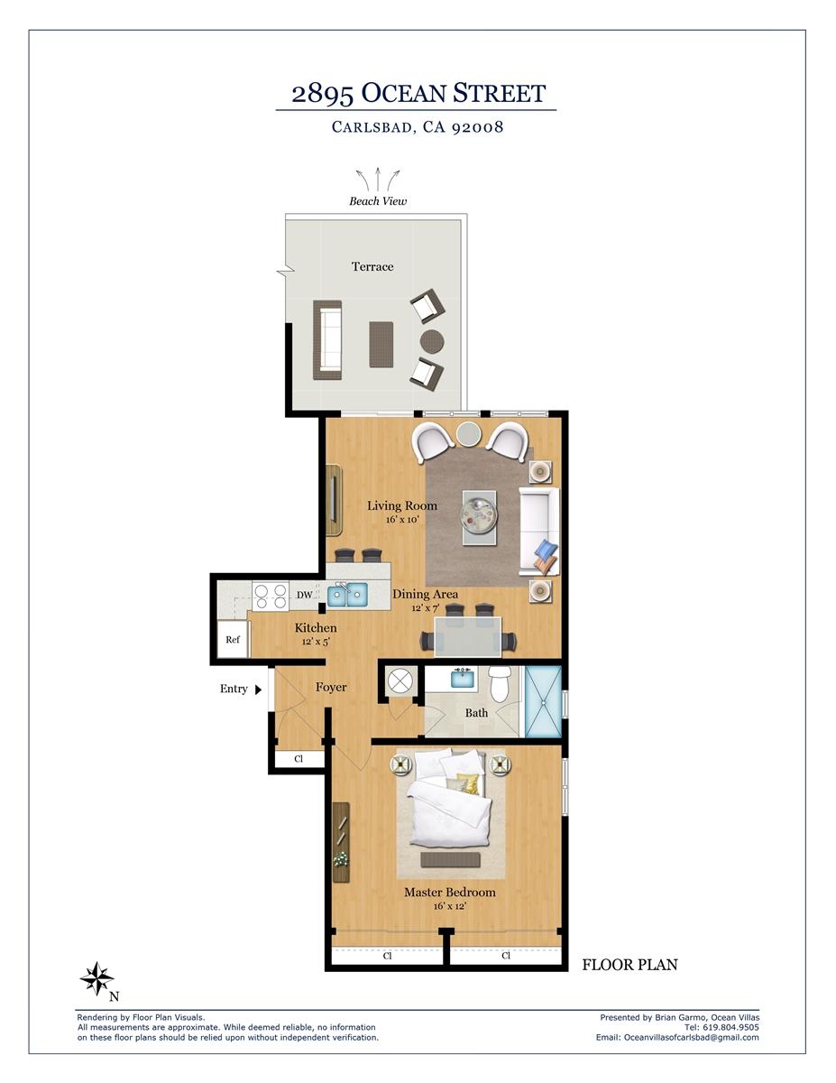 Floor Plan for Catalina F