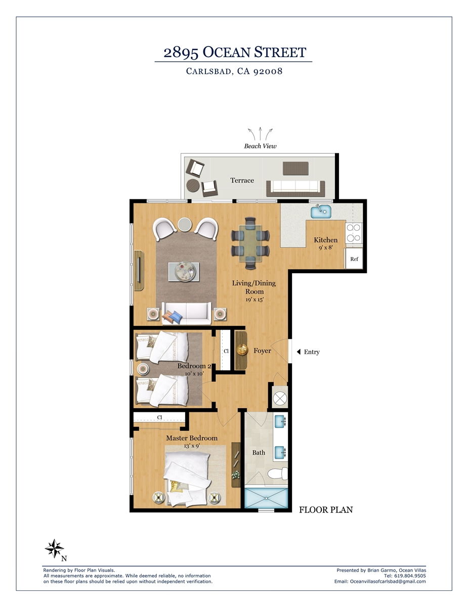 Floor Plan for Baja G