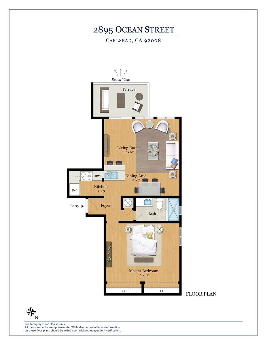 Floor Plan for Catalina H
