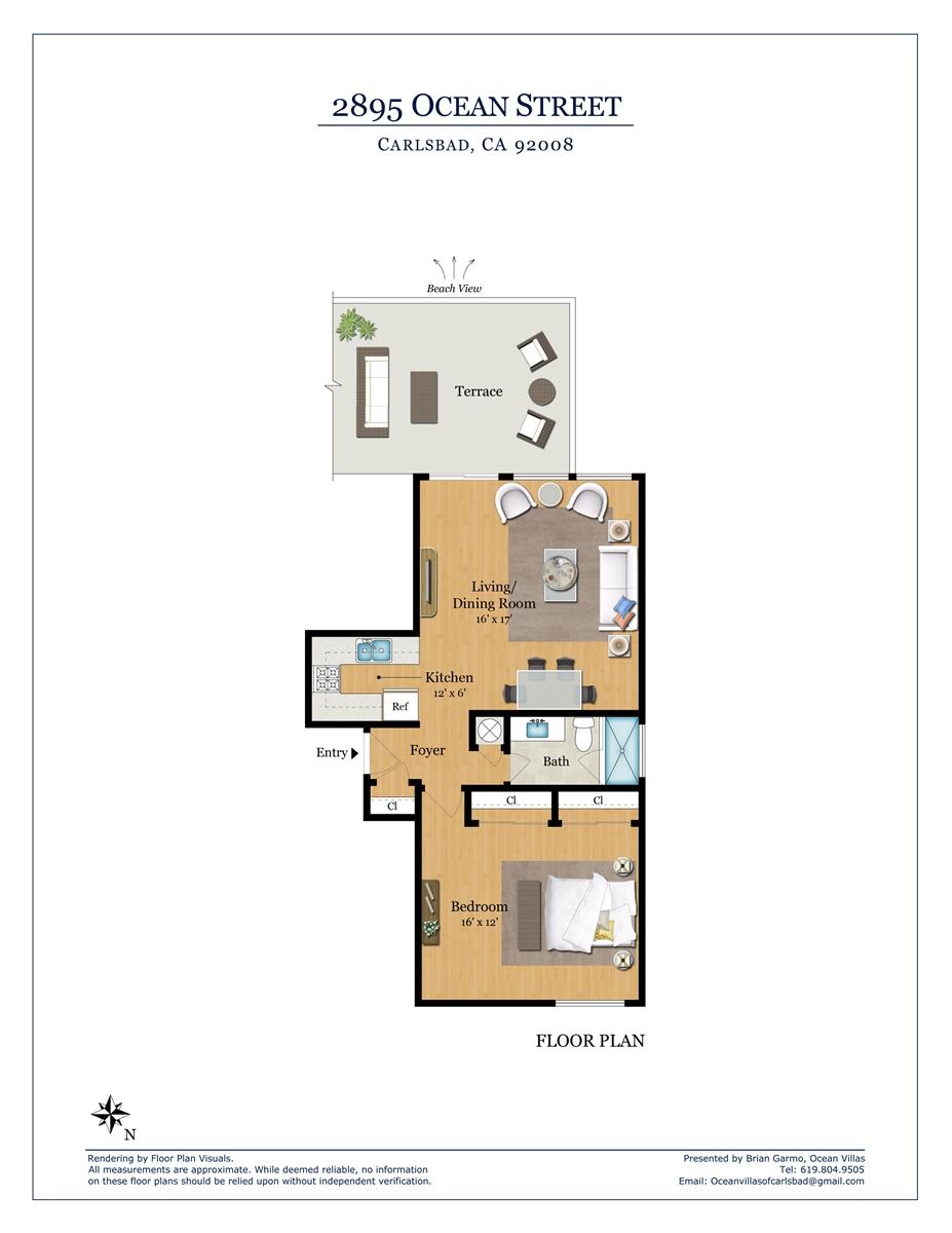 Floor Plan for Penthouse B