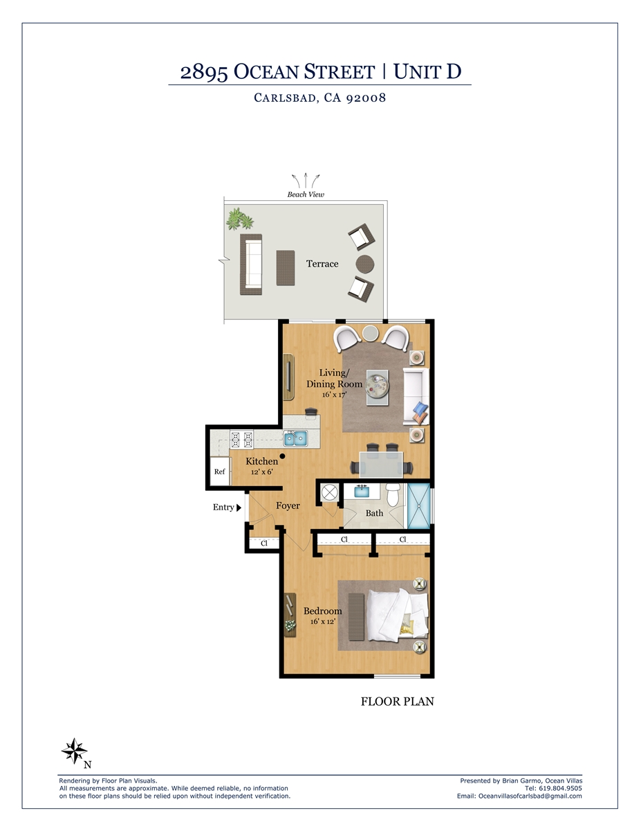 Floor Plan for Catalina D